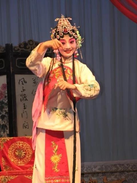 秦腔演员马璐璐