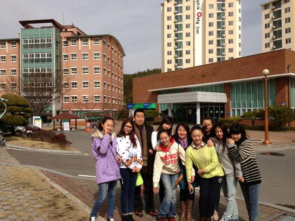 校领导赴韩国庆尚大学访问
